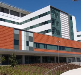wellington hospital view from front